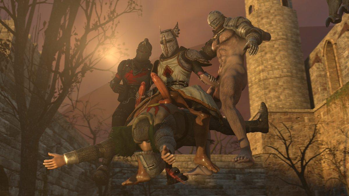 corvian dark knight 3 souls Monster musume no oisha san