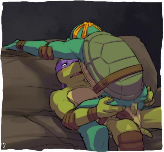 renet turtles teenage ninja mutant Tane_wo_tsukeru_otoko