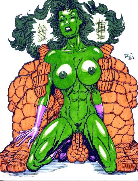 old man she-hulk logan Futanari on female