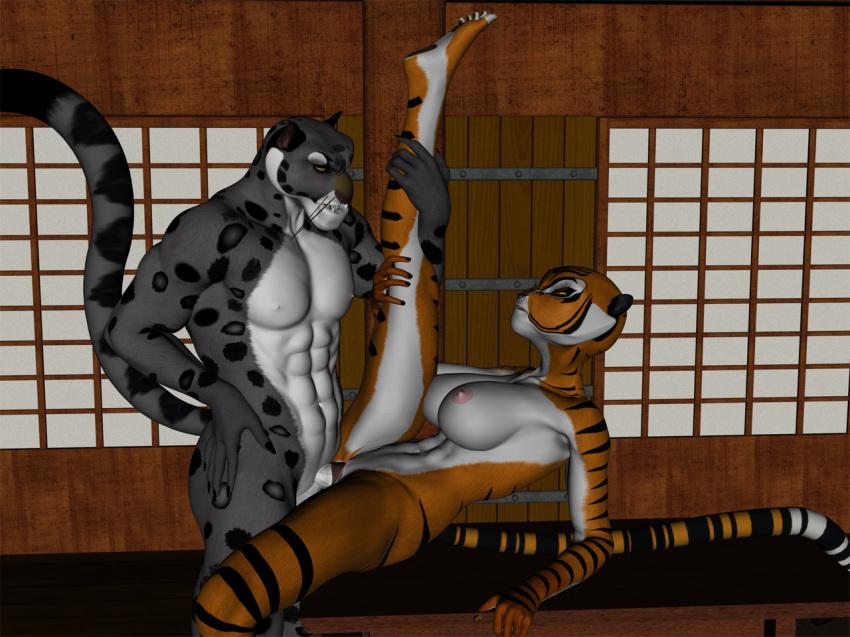 general fu kai panda kung Ranma 1/2 nudity