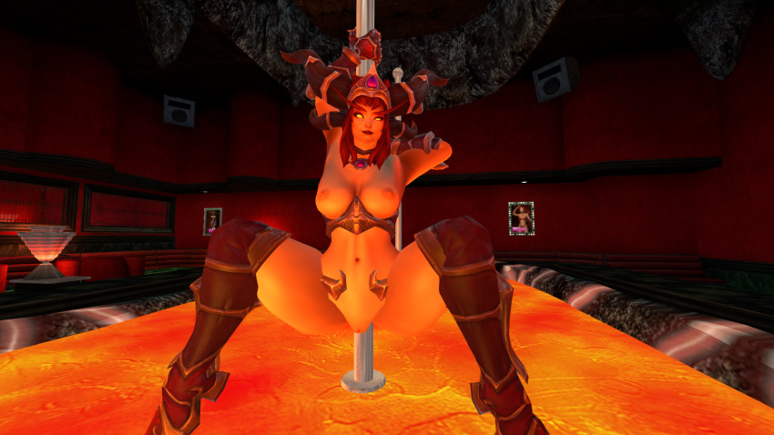 alexstrasza the heroes storm of Trials in tainted space delilah