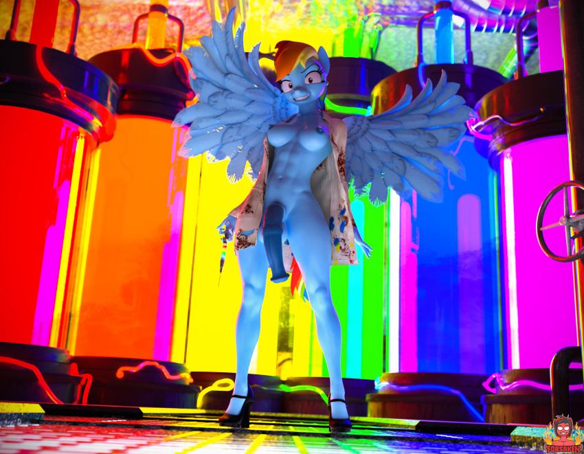 mlp fan art rainbow dash El superbeasto velvet von black