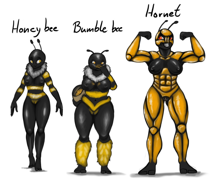 dynamite honey bee and black Naruto x android 18 fanfiction