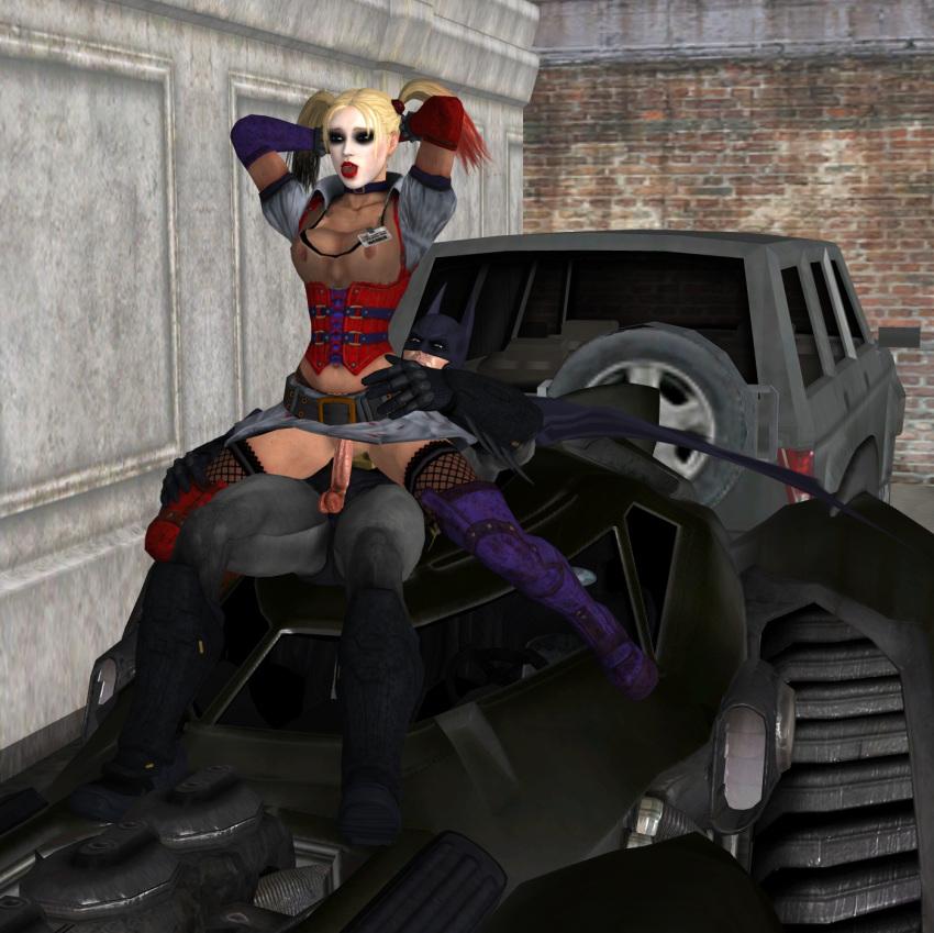porn catwoman arkham batman city Honoo no haramase motto! hatsuiku!