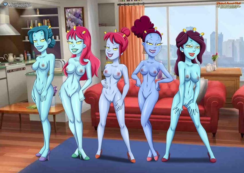 summer morty nude and rick Hotel transylvania 3