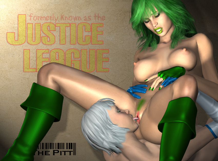 league justice action Girls of the wild's hentai