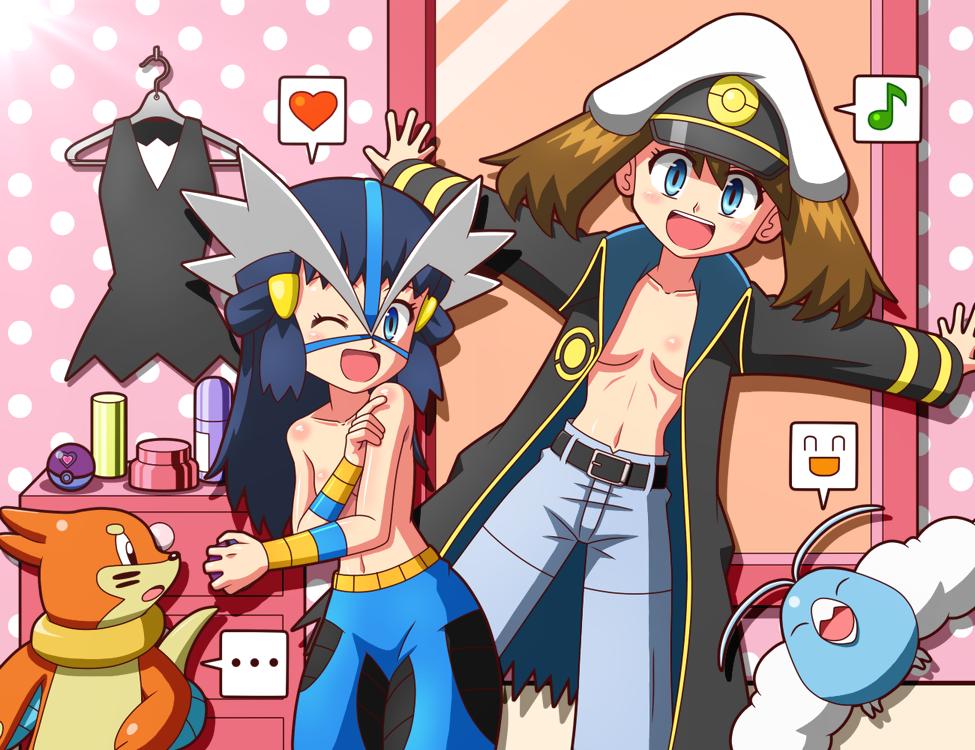 turns a into ninetails fanfiction pokemon naruto Rayman origins fairies
