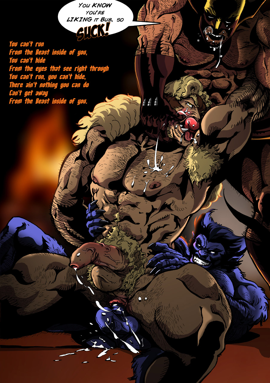 mccoy x-men hank Big hero six