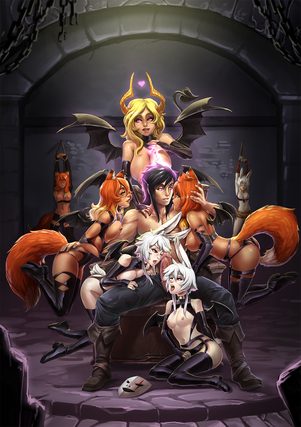 harem fanfiction and female kyuubi naruto Final fantasy tactics advance doned