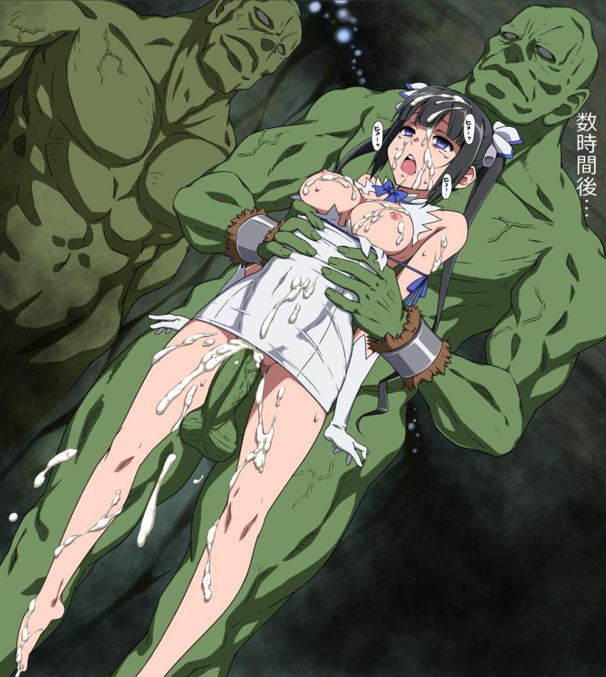 machigatte wa myth deai ni motomeru dungeon no iru darouka: o familia Holo spice and wolf naked